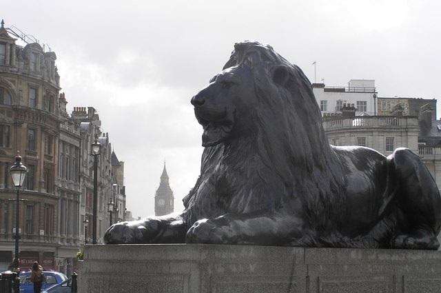 Landseer Lion Statue