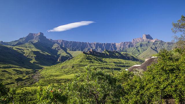 Drakensberg escarpment-