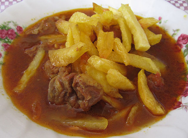 Lamb and split peas stew