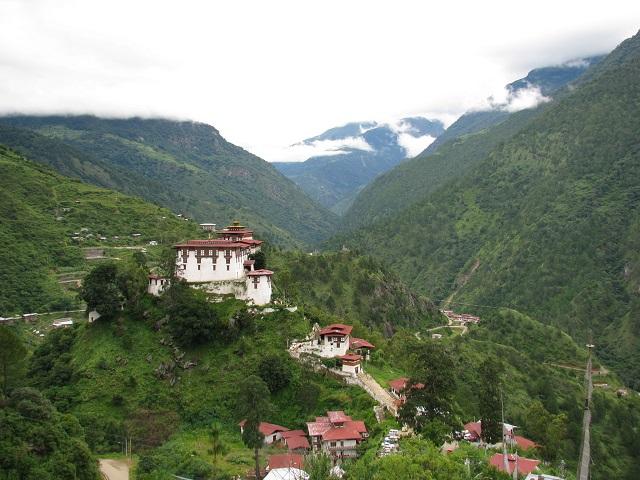 Lhuentse Dzong Monastery