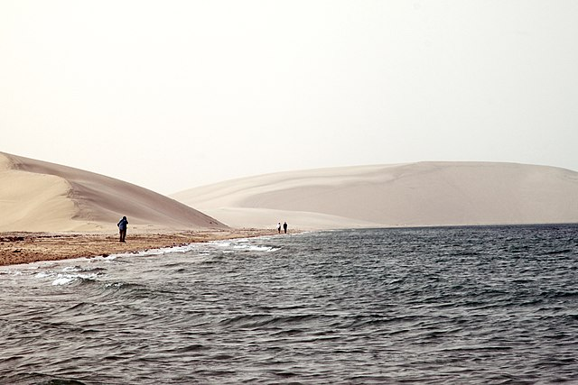 Sand dunes Khawr Al Udayd-Sandboarding